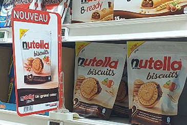 Ferrero Nutella Biscuits