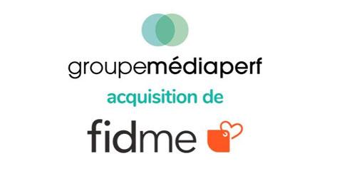 Le Groupe Médiaperf annonce  l'acquisition de l'appli shopping Fidme