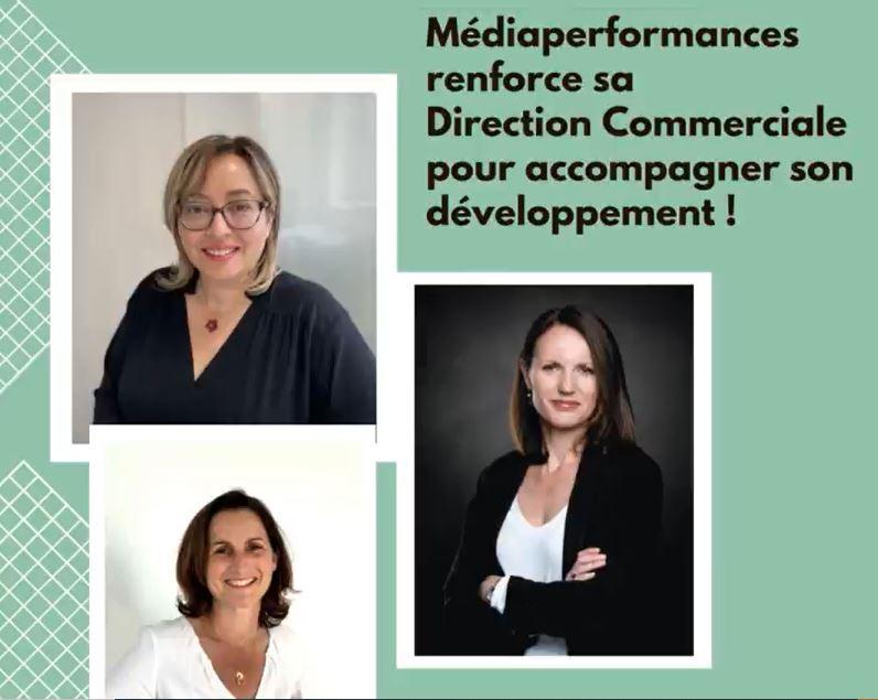 Nominations au sein de la Direction Commerciale de Médiaperformances